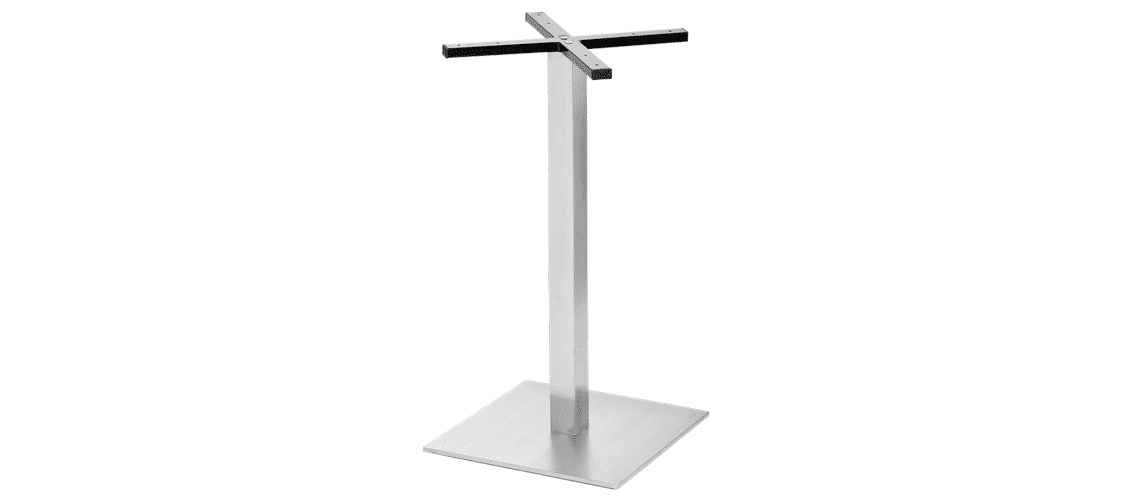 Sneg square stainless steel base
