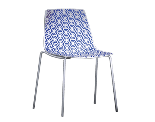 Alhambra   Geometric   4 legged   Chair   Office   Modern   Statement