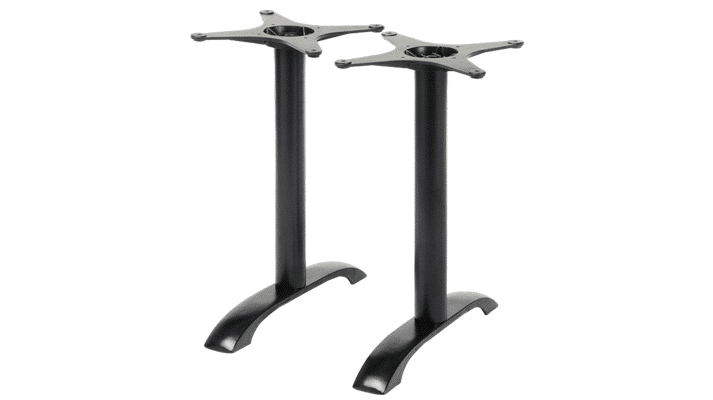Arched Double Cast Iron Table Base