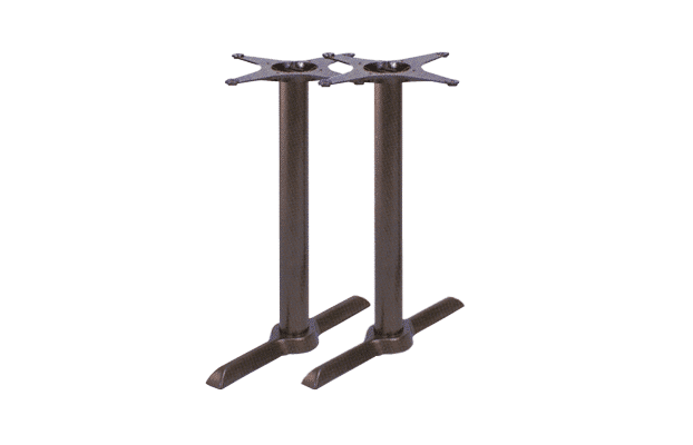 Crucifix-double-table base