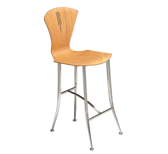 Holtz stiletto leg stool