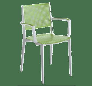 Kalipa W, outdoor, chair, colourful, bright, modern, simple