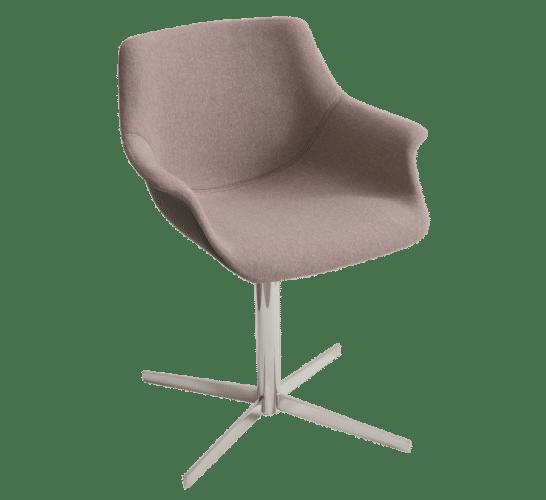 More CB , cross base, chair, office chair, waiting chair