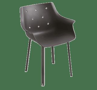 More NA, chair, steel legs, outdoor, indoor, elegant, versatile