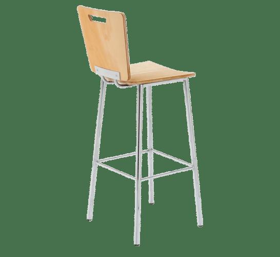 Ned Kelly stool wood steel