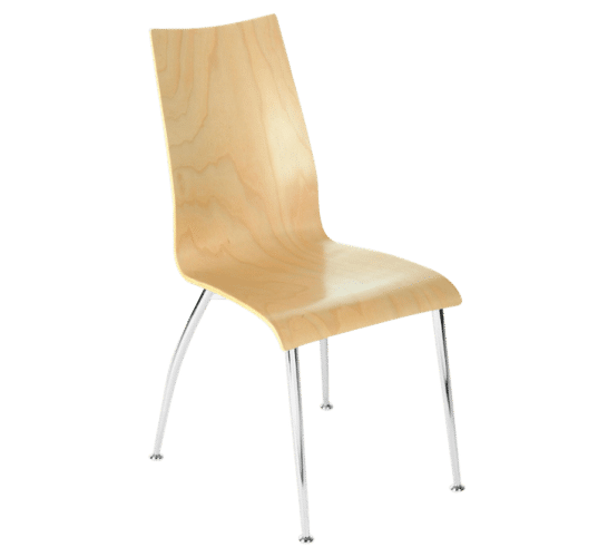 Oggi 165, chair, stiletto, wood,