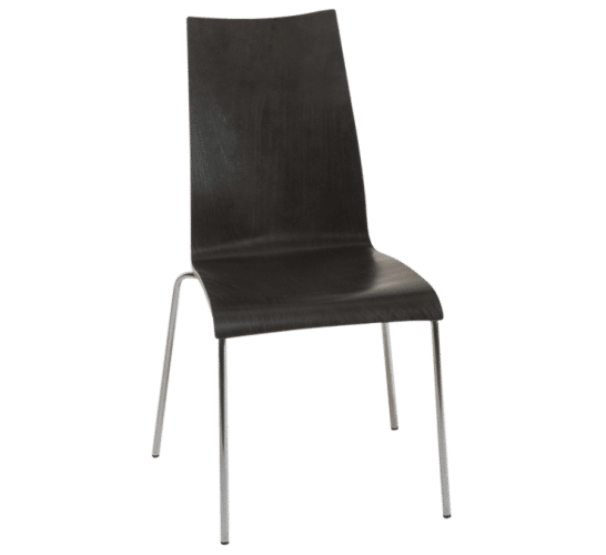 Oggi chair black wood