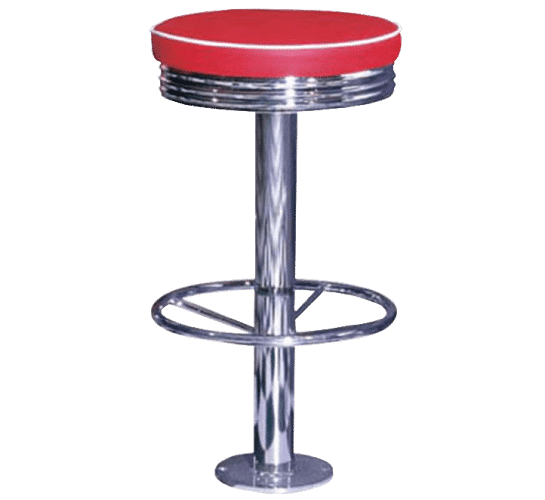 Retro Stool Fixed Titan Furniture