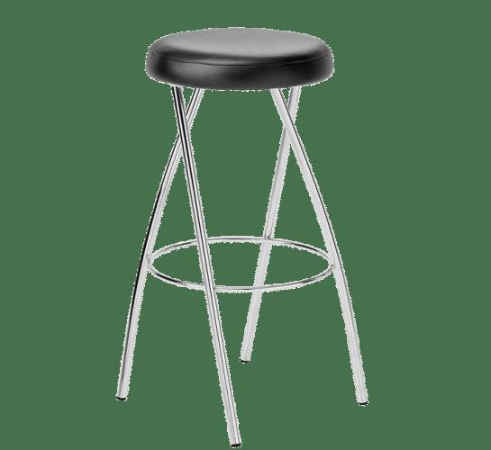 Stix stool chrome