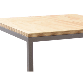 Studio-flush-fit-table frame