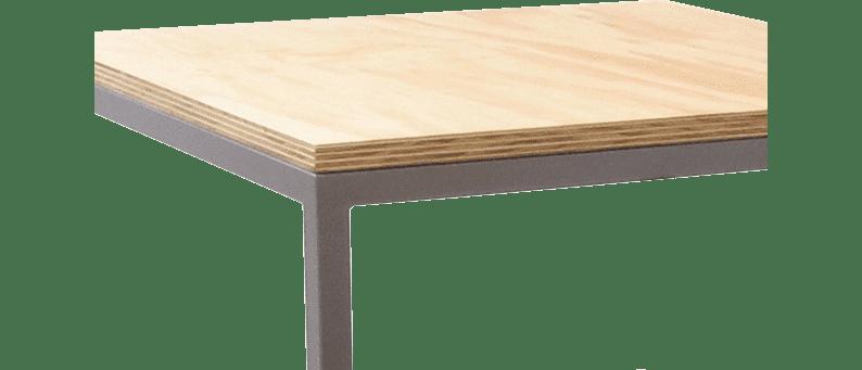 Studio-flush-fit-table frame