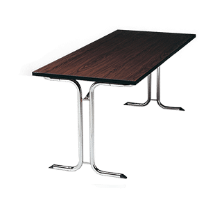 deluxe rectangle folding table, movable, modern, easy, storage