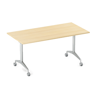 eco folding table, aluminium, indoor, folding