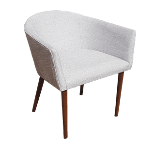 kylie chair, nz made, upholstered, leisure, commercial