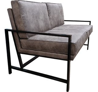 siege, custom 3 seater, upholstered, nz made, commercial