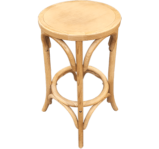 Bentwood Stool without back | Wooden seating