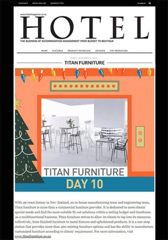Hotel Furniture Design | Titan Furniture