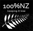 100% NZ Keeping it Kiwi