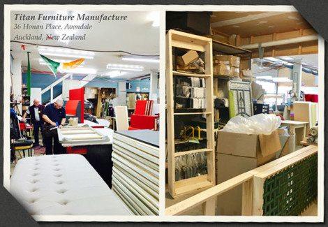 Titan Furniture Manufacture Auckland
