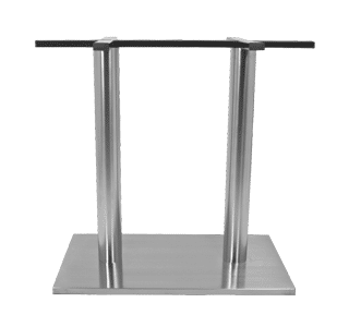 rectangle table base, stainless steel, sneg, commercial