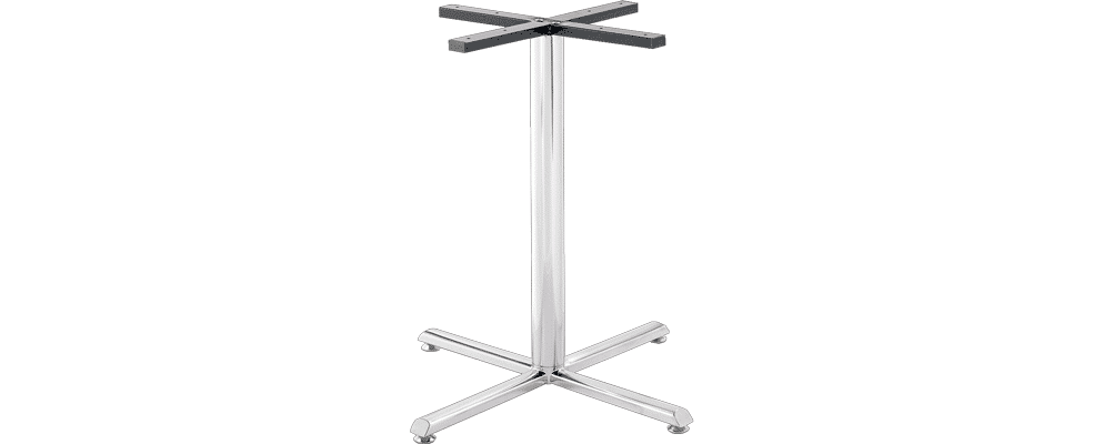 Crucifix STAINLESS STEEL table base