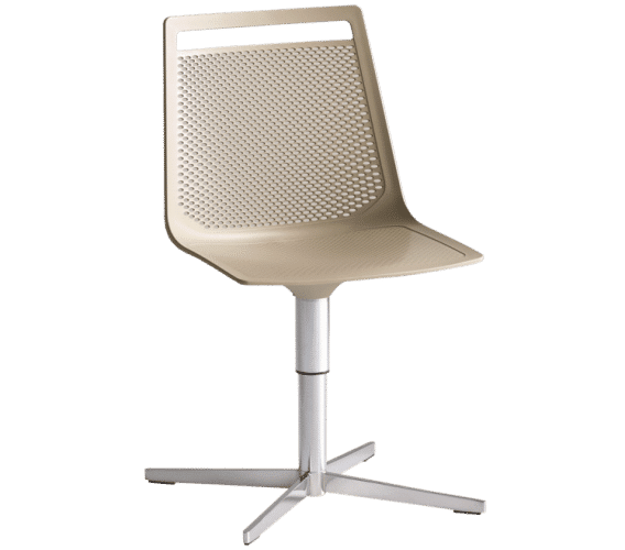 Akami L, Office Chair, Brown, Auckland, Akami, Castor, Gas Lift