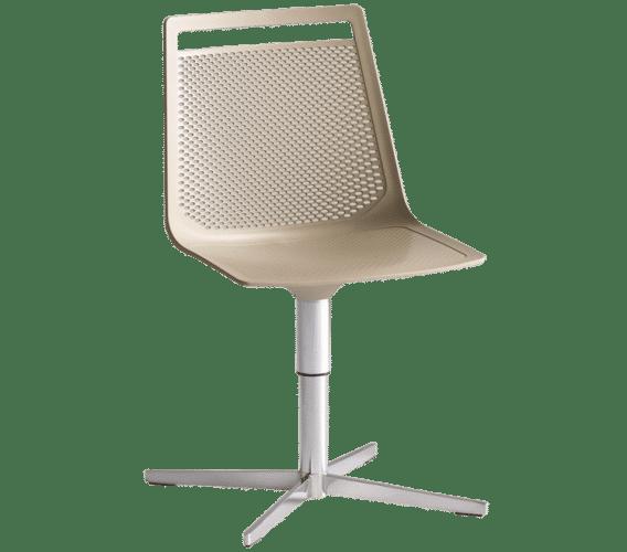Akami L, Office Chair, Brown, Auckland, Akami, Castor, Gas Lift