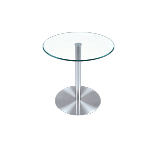 Contro Coffee Table, glass top, stainless steel frame, commercial, domestic, modern, trendy