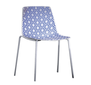 Alhambra | Geometric | 4 legged | Chair | Office | Modern | Statement
