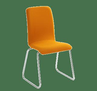 Bella Sled | sturdy | lightweight | elegant | modern | office | contemporary