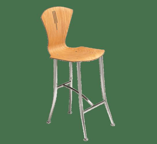 Holtz stiletto leg stool