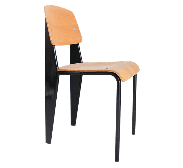Jean Prouve, replica, modern, dining chair, french-like