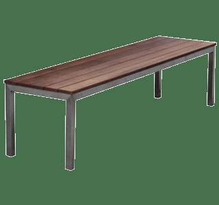 Garapa bench, hospitality, commercial, kwila
