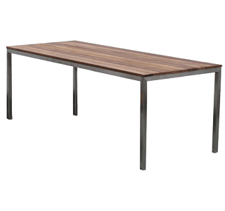 Garapa table, durable, hospitality, timber, outdoor