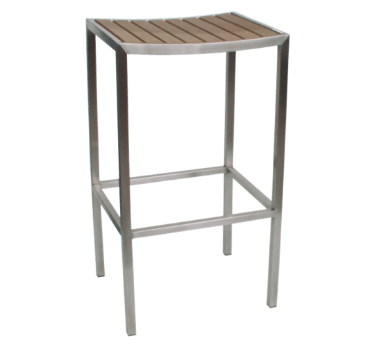 Mariner stool wood steel