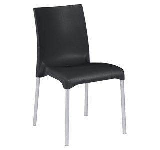 Maya, outdoor chair, simple, modern, versatile