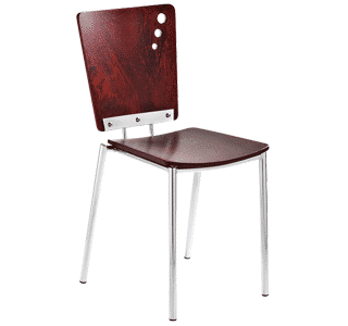 Metro W, timber chair, outdoor chair
