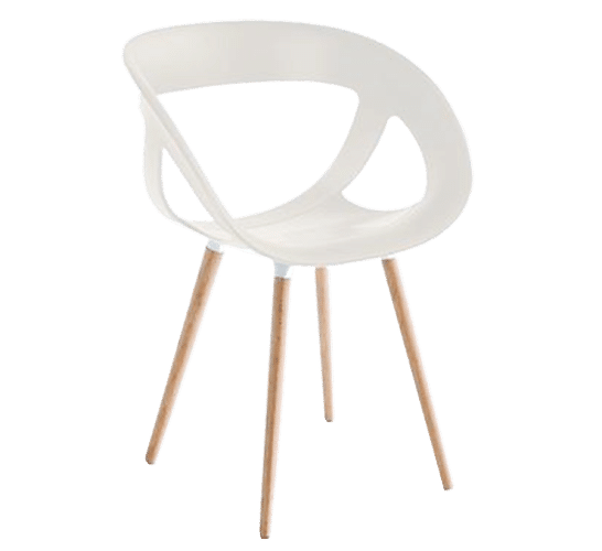 Moema BL, stacking, timber, simple elegant design, new, modern, office chair