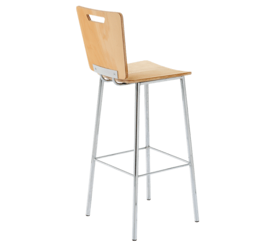 Ned Kelly stool wood steel