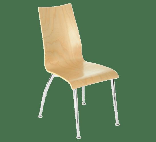 Oggi 165, chair, stiletto, wood,