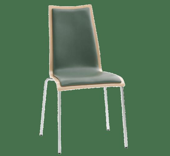 Oggi chair upholstered