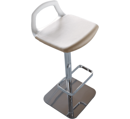 Pop stool pedestal foot rest