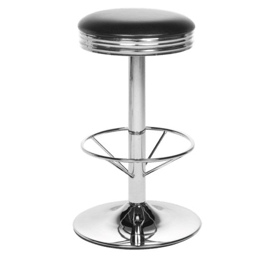 Retro stool free standing