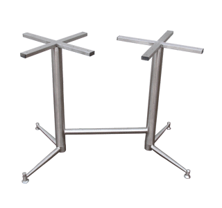 Roundo-Twin table base small