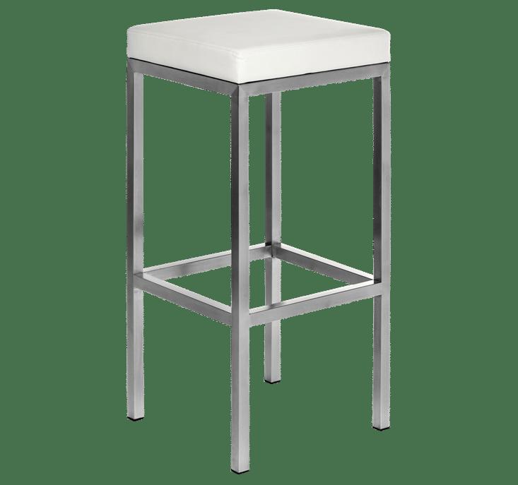 Rubik stool upholstered seat