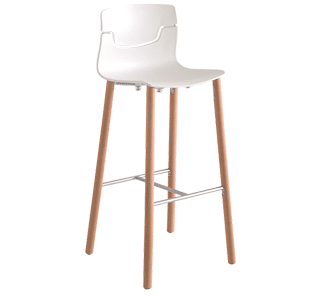 Cafe Furniture | Slot-stool-beech-legs