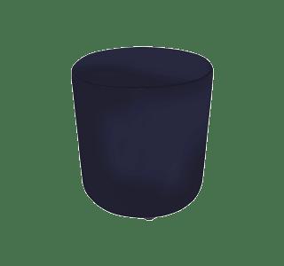 steve ottoman 450, indoor, round, upholstered, recline