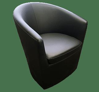 tub - Black Tub Chair