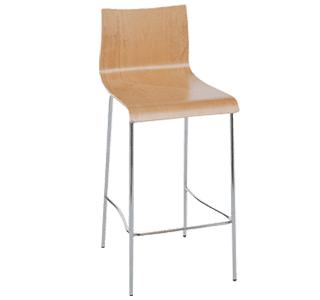 bonn stool 4l, commercial stool, hospitality, simple, classic, cafe stool