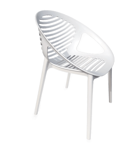Tig Outdoor Chair made of polypropelene